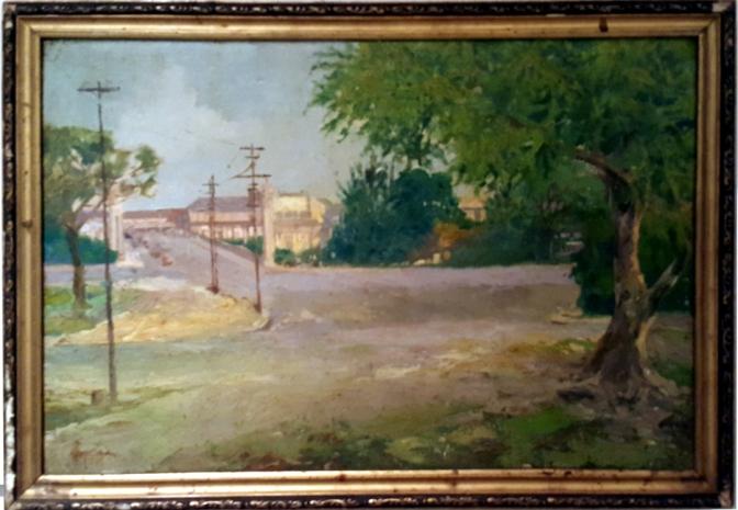 11 1939 Wenceslao Garcia - Approach to Jones Bridge