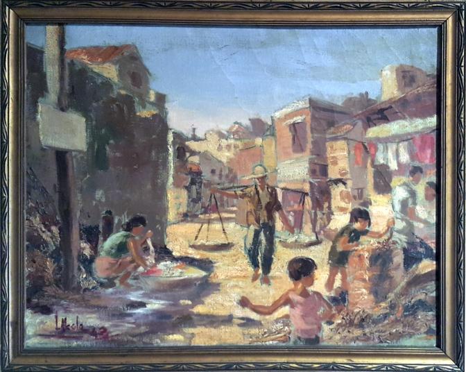 1942-lauro-alcala-street-scene-in-quiapo