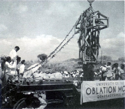 1949 Transfer of the Oblation from UP Manila to UP Diliman