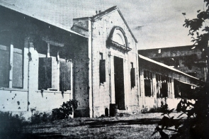 1948 The Bullet Ridden U.P. High School in Manila
