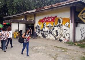 Guerilya Art Collective - KKK Mural, University Shopping Center