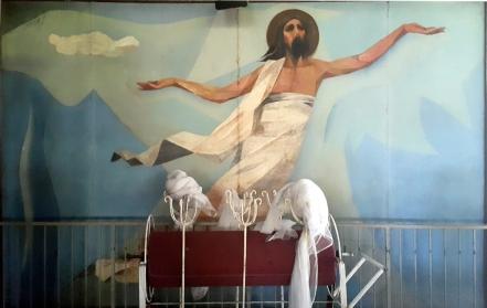 1955-56 Vicente Manansala & Ang Kuikok - Stations of the Cross XV: The Resurrection