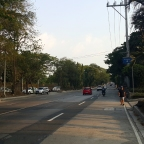 University of the Philippines, Quezon City: Carlos P. Garcia Avenue and Teacher's Village