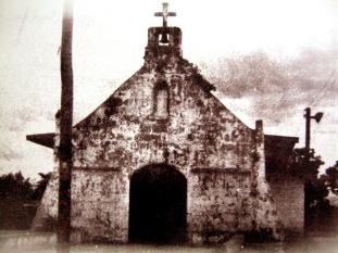 The ol Spanish Era Church at Barangay Krus na Ligas