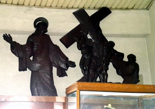 Napoleon Abueva - Stations of the Cross II Jesus is condemned to the Cross