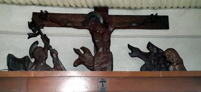 Napoleon Abueva - Stations of the Cross XII Jesus dies on the Cross