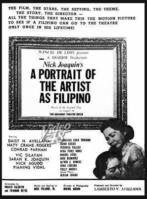 1965 A Portrait of the Artist as Filipino