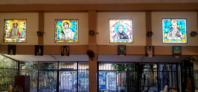 Sto. Niño, San Pedro Calunsod, Fr. Jules Chevalier, St. John XXIII
