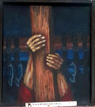Sieger Köder - Jesus bears the Cross