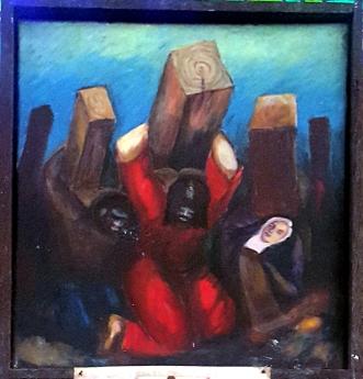 08g Sieger Köder - Jesus falls for the Second Time