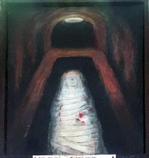 08n Sieger Köder - Jesus is buried in the Tomb