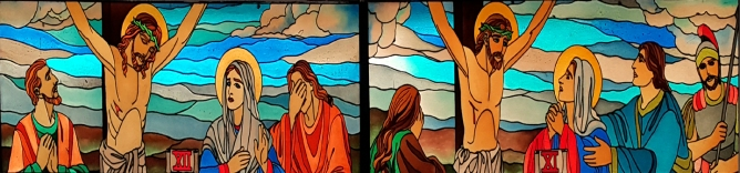 Stations of the Cross: Jesus addresses Mary and John, & The Death of Jesus