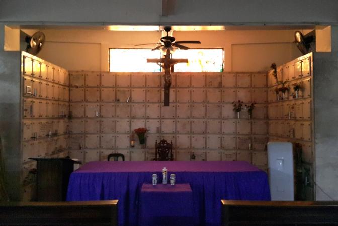 The Garden of the Resurrection Columbary - Altar
