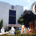 Commonwealth Avenue, Quezon City: Commission on Audit Complex, Part I