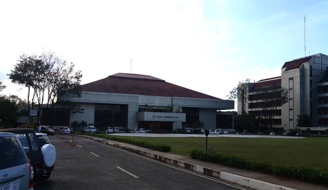 1977-78 Felipe Mendoza - Batasang Pambansa Complex, Main (East) Hall