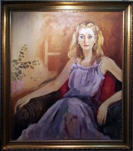 1978 Frederico Alcuaz - Untitled, Lady