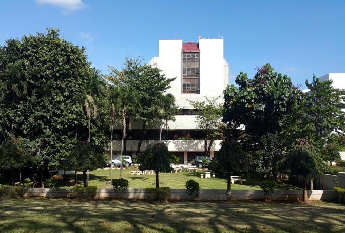 1977-78 Felipe Mendoza - Batasang Pambansa Complex, North Hall