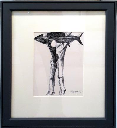 1987 Ang Kuikok - Untitled, Fisherman