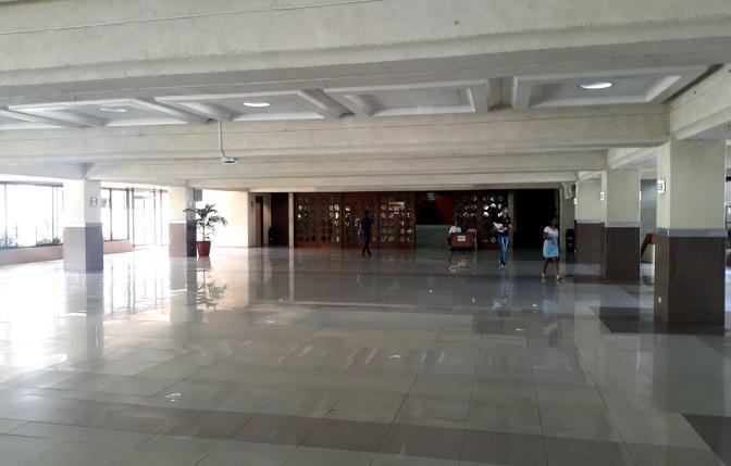 Entrance to the Plenary Hall, North Wing, Batasang Pambansa Complex