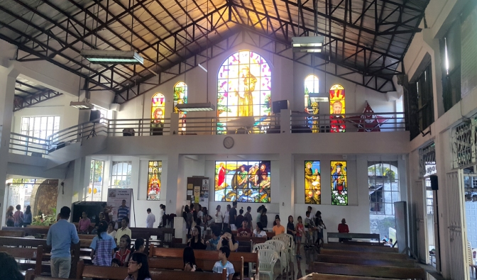San Antonio de Padua Parish, Narthex