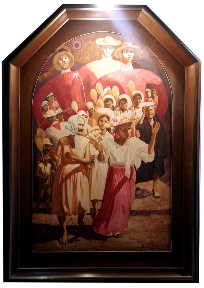 1983 Jose Blanco - Untitled,Sayaw ng mga Higante
