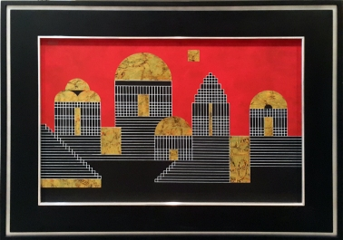 Arturo Luz - Untitled, City
