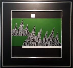 Arturo Luz - Untitled, Mountains