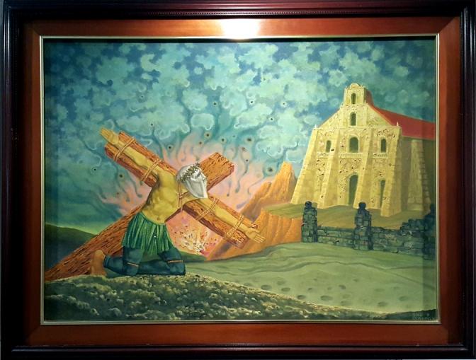 1982 Galo Ocampo - Untitled, Penitent