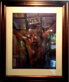 1982 Onib Olmedo - Untitled, The Crucified Christ