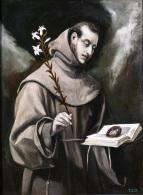 1580 El Greco (Doménikos Theotokópoulos 1541-1614) - Saint Anthony of Padua