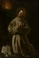 1627-30 Francisco de Zurbarán (1598- 1664) Apparition of the Child Jesus to Saint Anthony