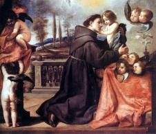 1650s Antonio de Pereda y Salgado (1611-1678) - San Antonio de Padua con Cristo Niño