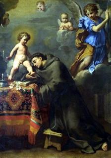 1662 Elisabetta Sirani (1638-1665) - San Antonio di Padova