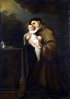 1700s Giacomo Farelli (1624-1706) St. Antony of Padua