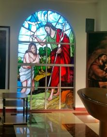 Gallery of San Antonio de Padua, John baptizes Jesus