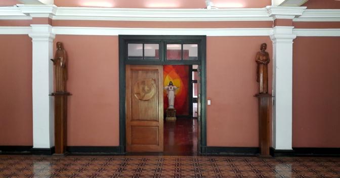 1932-1933 Sacred Heart Novitiate, Main Lobby