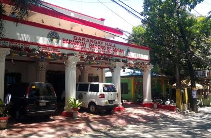Barangay Bagong Silang, Barangay Hall and Police Station