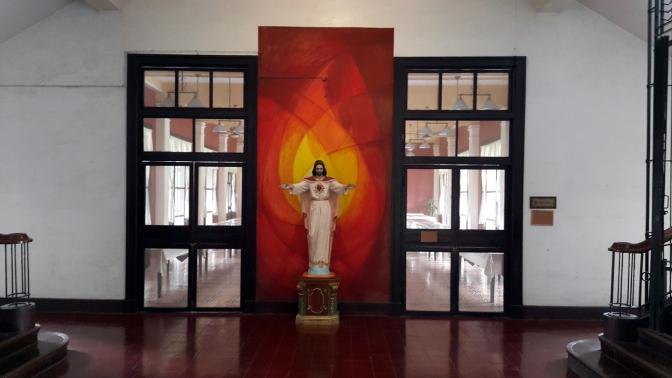 1932-1933 Sacred Heart Novitiate, Second Lobby
