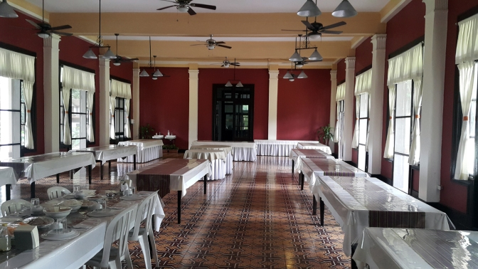 1932-1933 Sacred Heart Novitiate, Main Dining Hall