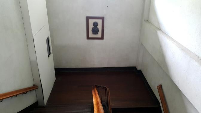 1932-1933 Sacred Heart Novitiate, Stairs St. Joseph