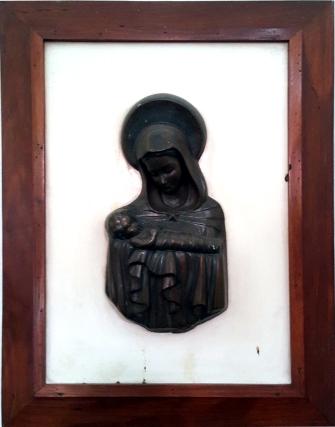 Sacred Heart Novitiate, Stairs Mary & Jesus