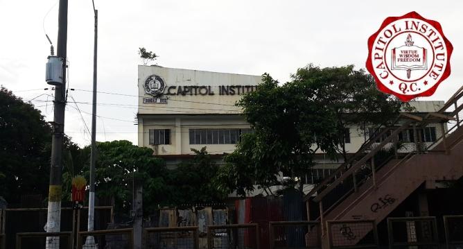 1950 Capitol Institute, Quirino Highway, Novaliches