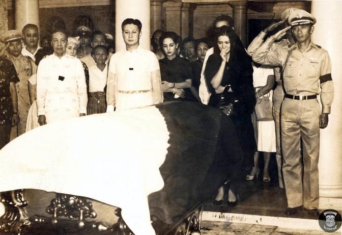1956 Funeral of President Elpidio Quirino 2