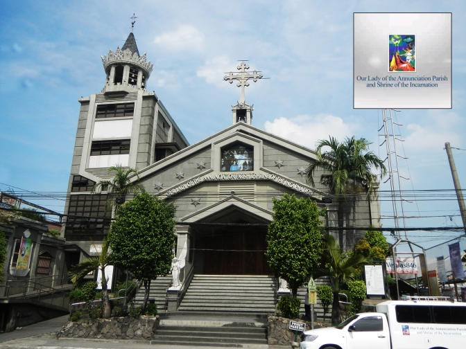 1992 Our Lady of the Annunciation Parish Shrine of the Incarnation, Mindanao Avenue