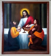2003 Jessie C. Lores - Stations of the Cross I: The Lord's Supper