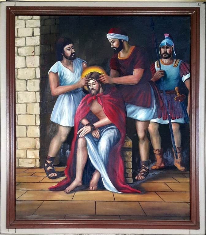 2003 Jessie C. Lores - Stations of the Cross IV: The Crowning with Thorns
