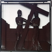 Stations of the Cross II - Jesus carries the Cross