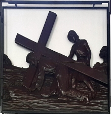Stations of the Cross III - Jesus falls for the First Time