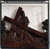 Stations of the Cross VII - Jesus falls for the Second Time