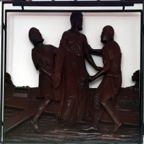 Stations of the Cross X - Jesus is stripped of His Garments